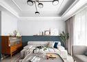 80平米三室一厅现代简约风格卧室效果图