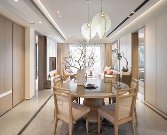 130平米四室四厅日式风格餐厅图片