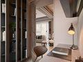 50平米公寓新古典风格书房橱柜装修案例