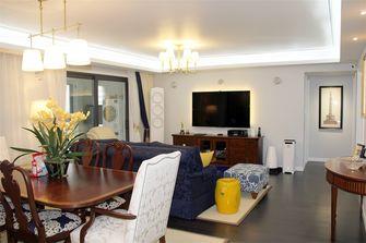 80平米三室两厅宜家风格客厅图