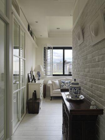 120平米三室一厅美式风格走廊图