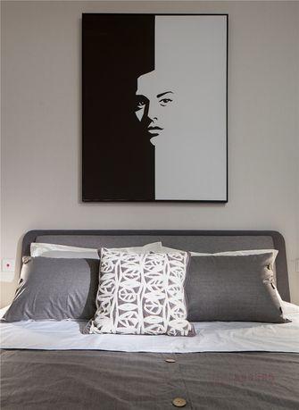 5-10万60平米现代简约风格卧室欣赏图