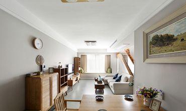 100平米复式现代简约风格客厅图片大全