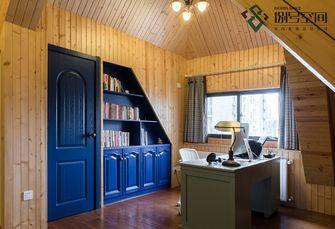 140平米别墅地中海风格书房装修效果图