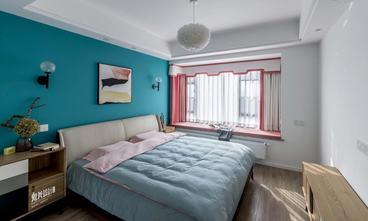 130平米四室两厅混搭风格卧室图片