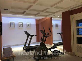 140平米复式北欧风格健身室装修案例