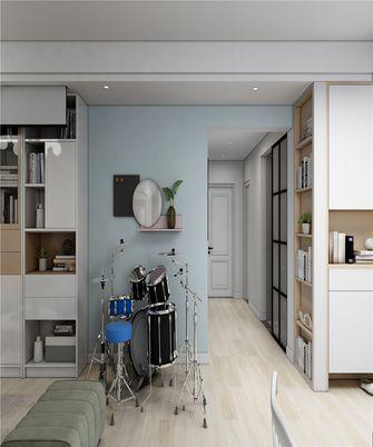 120平米三室两厅日式风格走廊图片