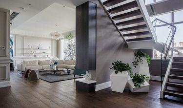 90平米现代简约风格楼梯间图片大全