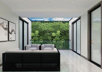 140平米别墅现代简约风格阳光房设计图