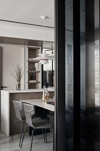 120平米四现代简约风格餐厅图片
