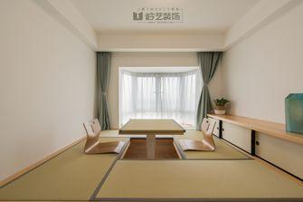 130平米三室两厅日式风格储藏室设计图