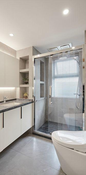 60平米一室一厅日式风格卫生间欣赏图