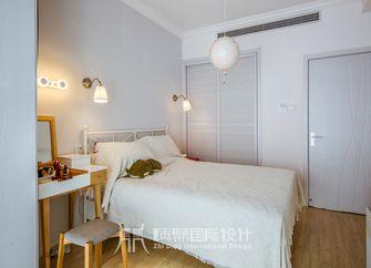 富裕型90平米复式北欧风格卧室图片大全