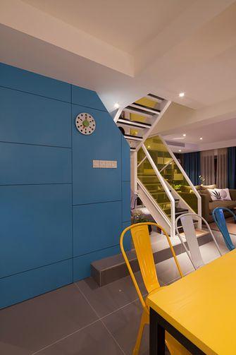 120平米复式混搭风格楼梯间装修案例