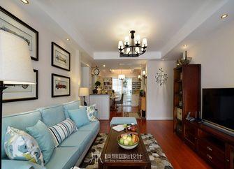 10-15万90平米美式风格客厅装修案例