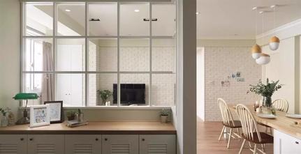 100平米三室两厅田园风格玄关设计图