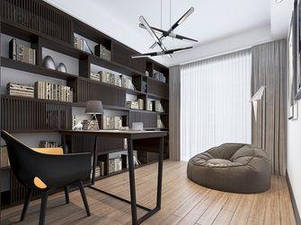 140平米三室两厅英伦风格书房欣赏图