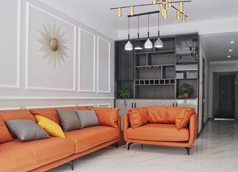90平米一居室现代简约风格客厅图片大全