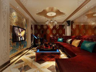 140平米别墅法式风格影音室图