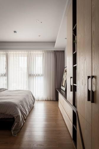 140平米三室五厅现代简约风格卧室装修效果图
