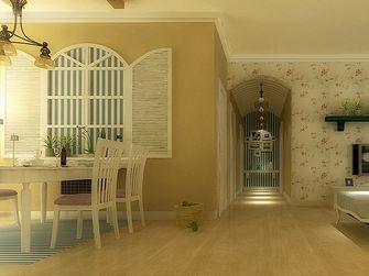 110平米三室两厅田园风格走廊装修效果图
