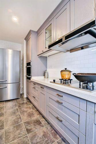 130平米四室一厅混搭风格厨房欣赏图