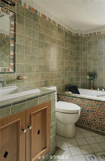 130平米四室两厅法式风格卫生间图
