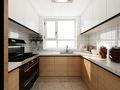 100平米一室两厅日式风格厨房图片大全