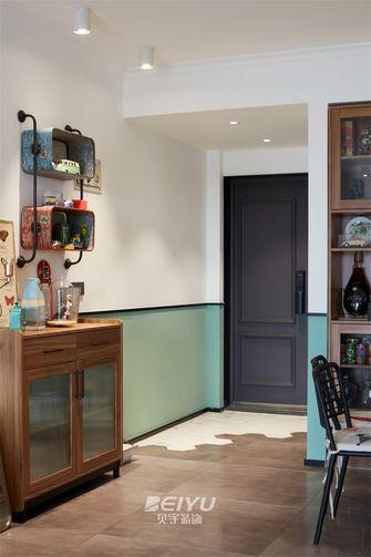 80平米三室两厅混搭风格玄关欣赏图