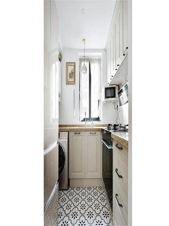 50平米一室一厅新古典风格厨房图