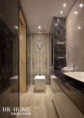 140平米三室五厅现代简约风格卫生间设计图