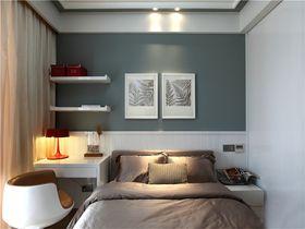 100平米三室两厅现代简约风格其他区域背景墙欣赏图