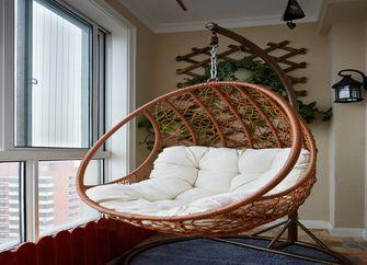 富裕型90平米三室两厅现代简约风格楼梯图片