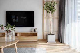 110平米三室兩廳日式風格客廳裝修效果圖
