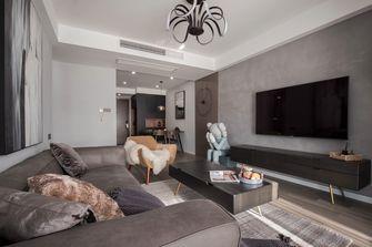 80平米三室两厅中式风格客厅设计图