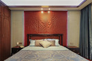 140平米四室一厅中式风格卧室设计图
