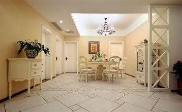 富裕型130平米四室一厅田园风格餐厅装修图片大全