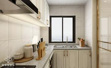 90平米三室三厅中式风格厨房图