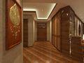 130平米东南亚风格走廊效果图