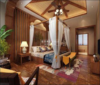 140平米复式东南亚风格卧室效果图