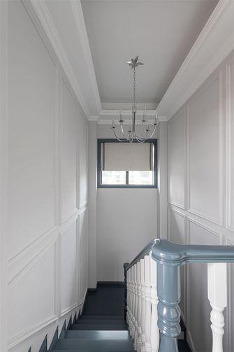 140平米三室一厅美式风格楼梯间图片大全