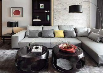 120平米公寓中式风格客厅装修案例
