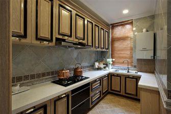 130平米三室两厅新古典风格厨房图
