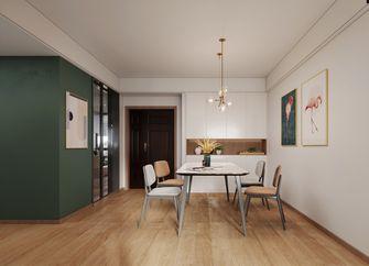 130平米三室两厅英伦风格餐厅图片大全