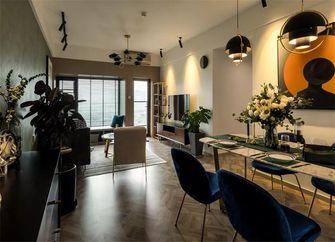 80平米三室一厅新古典风格餐厅图