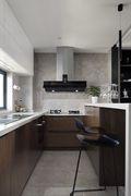 100平米三东南亚风格厨房效果图