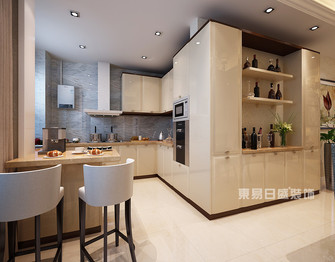 140平米三室两厅美式风格厨房图片