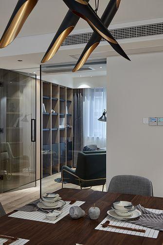 130平米四室两厅混搭风格书房设计图