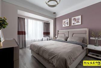 140平米三室一厅美式风格卧室图片大全
