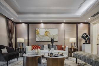 130平米四室三厅欧式风格客厅图